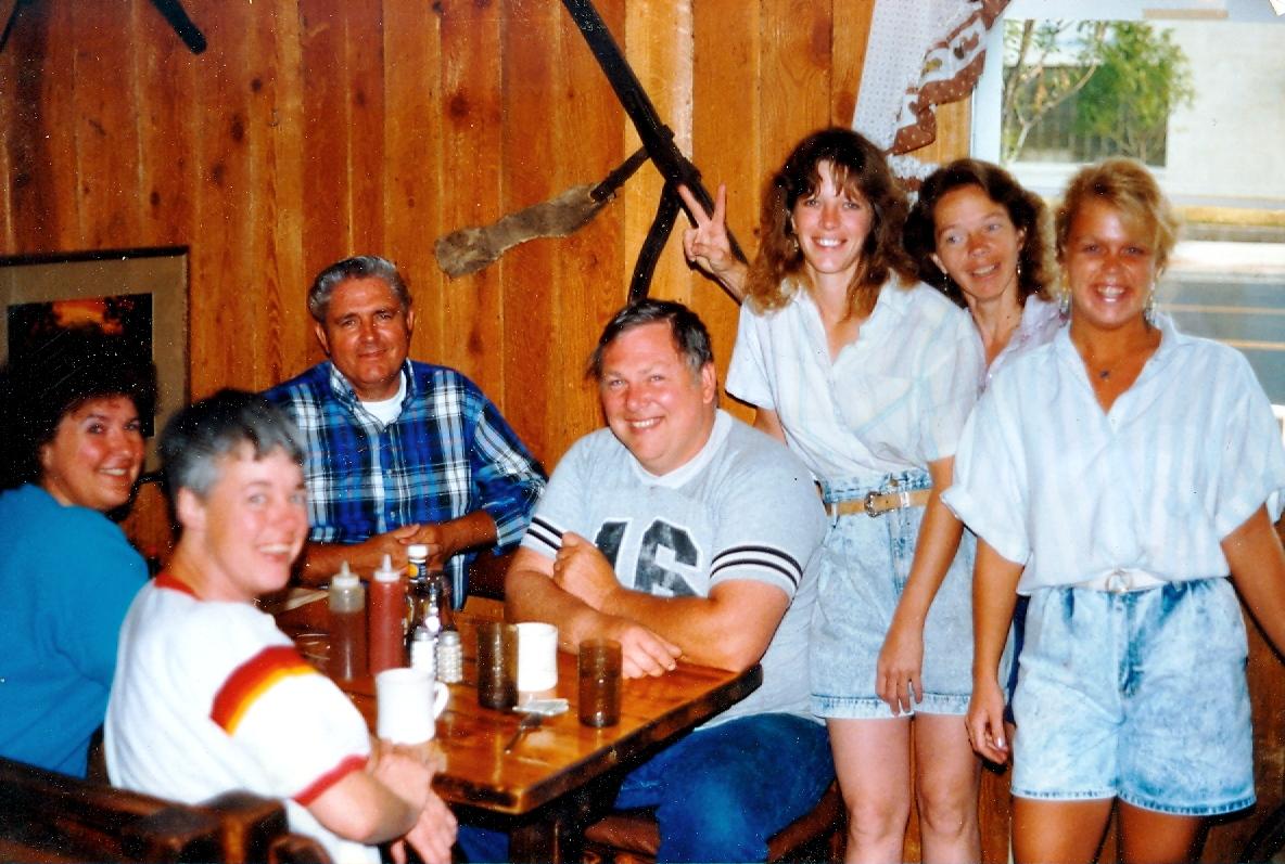 Pat, Wayne, Don & Shirley Last Day