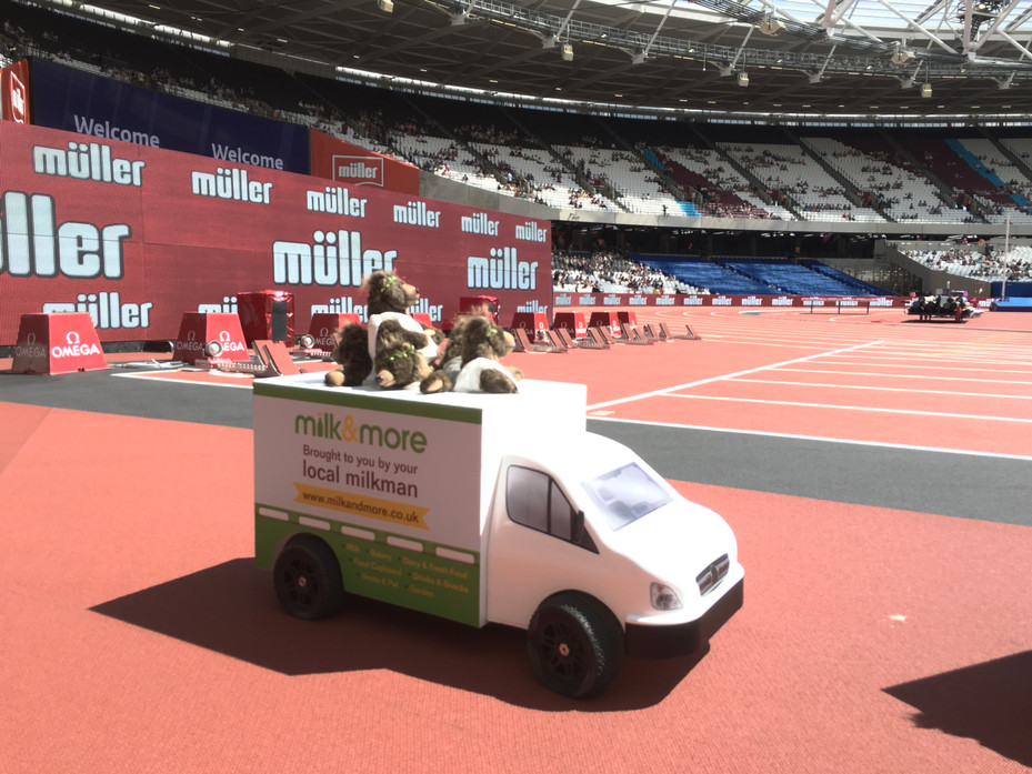 Muller Anniversary Games - London 2016
