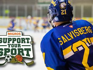 Migros Förderaktion «Support your Sport» ergibt CHF 2'661