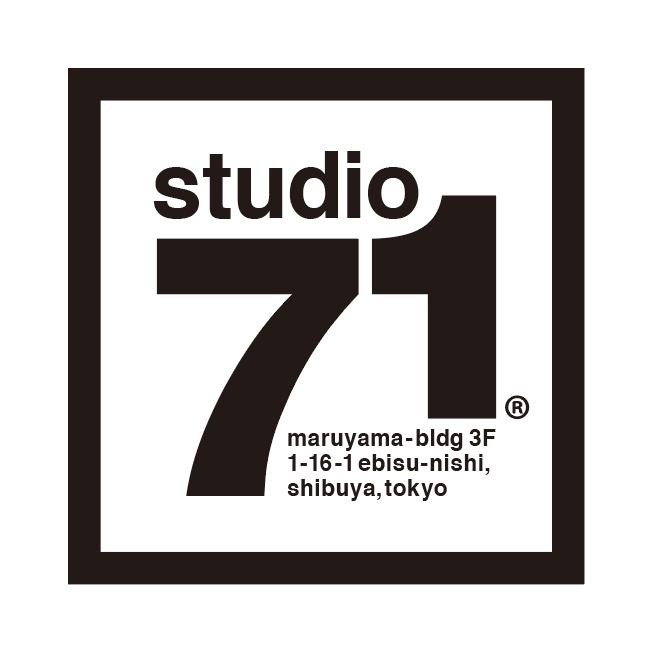 studio 71 (ebisu, gallery) logo mark