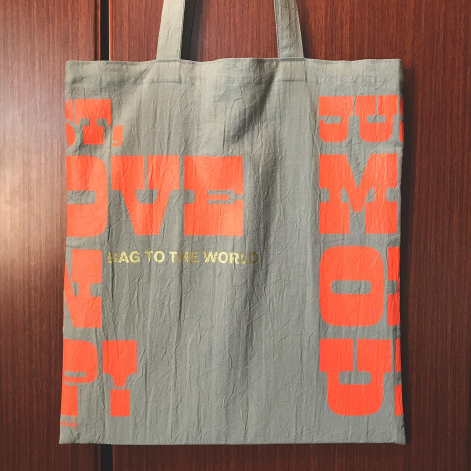 MOVE ON UP!トートバッグ