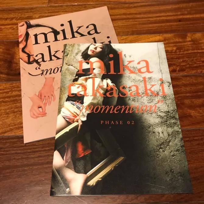 "mika takasaki ""momentum"" phase 01, 02"