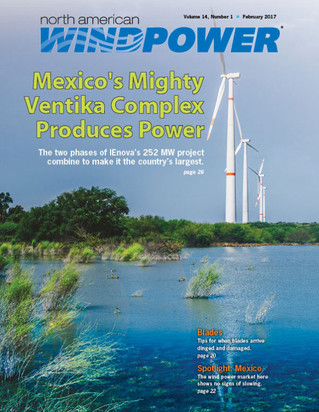NORTH AMERICAN WINDPOWER: Mexico's Largest Wind Farm Comes To Life