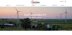 ACCIONA US Website