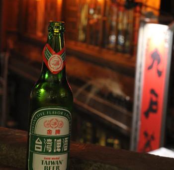 台湾ビール@「九份」