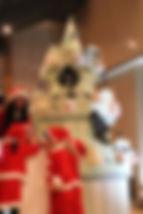 帝国ホテルアーケード、クリスマスイベント、シュガークラフトモニュメント、シュガーケーキ