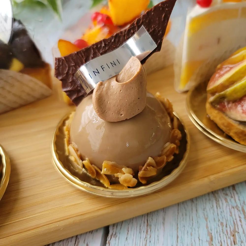 ショコラテトサ、アンフィニのケーキ、チョコレートケーキ