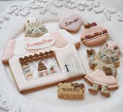 バレンタインアイシングクッキーワンデーレッスン