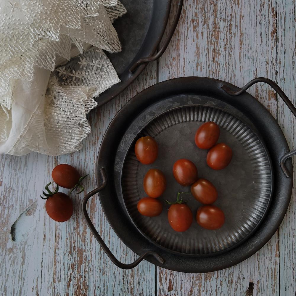 家庭菜園、ミニトマト、シュガーケーキ