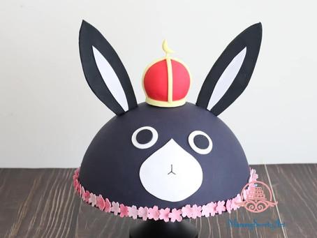 ご注文はうさぎですかの千代ちゃんお誕生日ケーキ