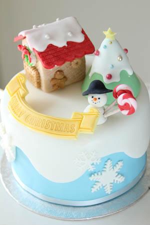 雑誌掲載ケーキ