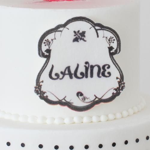 LALINEアニバーサリーケーキ