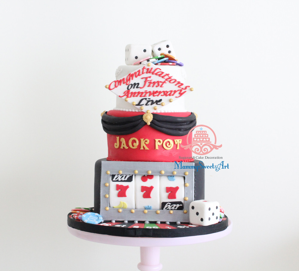 ジャックポット、アイドル、アニバーサリーケーキ