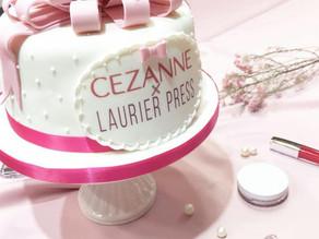 LAURIER PRESS✕CEZANNEイベント用シュガーケーキ制作