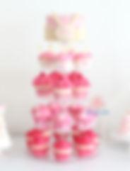 シュガークラフト、カップケーキ、カップケーキタワー、オーダー、シュガーケーキ