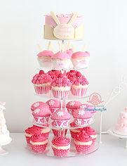 シュガークラフト,カップケーキ,バースデーパーティー,カップケーキタワー