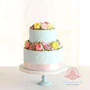 シュガークラフト、オーダーメードウェディングケーキ,ミニケーキ,お花絞りのケーキ,シュガーケーキ、シュガーアート