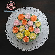シュガークラフト,シュガーケーキ,バタークリームケーキ,お花絞りのケーキ,オーダーメードウェディングケーキケーキ,