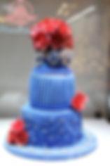 シュガークラフト,ウェディングケーキ,オーダーメードウェディングケーキ,花嫁様手作り,ピンク,リボン,ばら