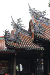 台湾、龍山寺、オーダー、プチギフト、シュガーケーキ