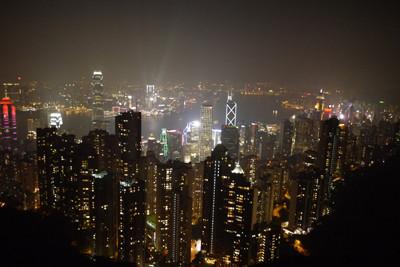 香港、夜景、プチギフト