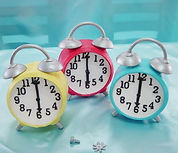 シュガークラフト製時計