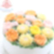 シュガークラフト,オーダーケーキ,シュガーケーキバタークリームケーキ,お花絞りのケーキ,オーダーメードウェディングケーキケーキ