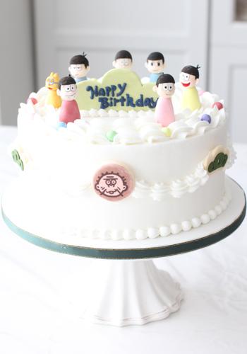 おそ松さん~お誕生日ケーキ制作させていただきました。