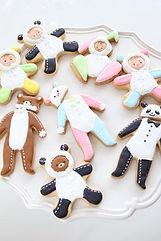 オーダー,アイシングクッキー,ベビー,きぐるみ