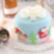 シュガークラフト,クリスマスケーキ,シュガーケーキ,オーダーケーキ,シュガーアート