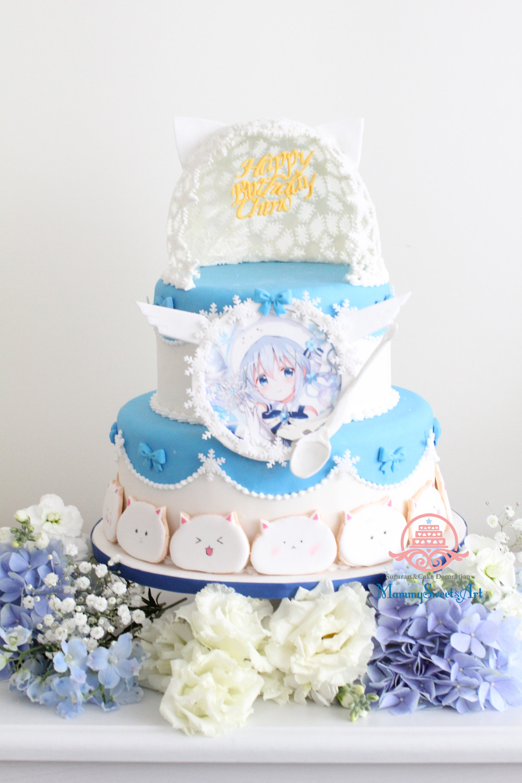 ご注文はうさぎですか?お誕生日ケーキ