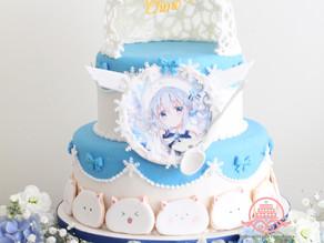 ご注文はうさぎですか?お誕生日ケーキ制作