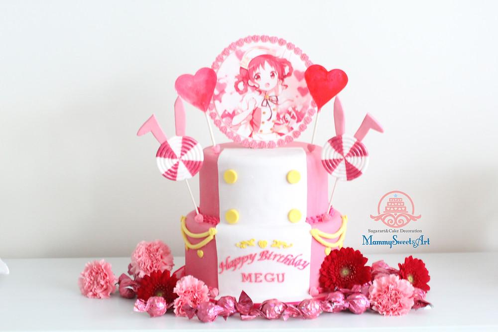 ご注文はうさぎですか?メグちゃんお誕生日ケーキ