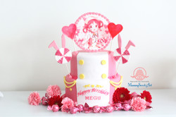 「ご注文はうさぎですか?」メグちゃんのお誕生日ケーキ制作させていただきました