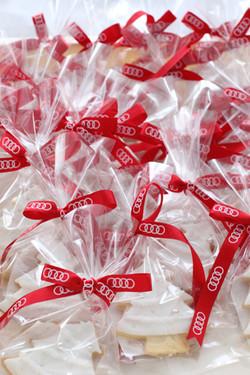 Audi全国販売店クリスマスイベント用アイシングクッキー制作