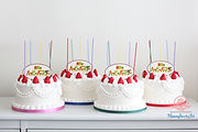 シュガークラフト、純烈のハッピーバースデー、MV用ケーキ、オーダーケーキ
