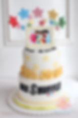 シュガーケーキ,Bee Shuffle,バースデーケーキ,オーダーメードケーキ,シュガークラフト,アニバーサリーケーキ、バースデーケーキ