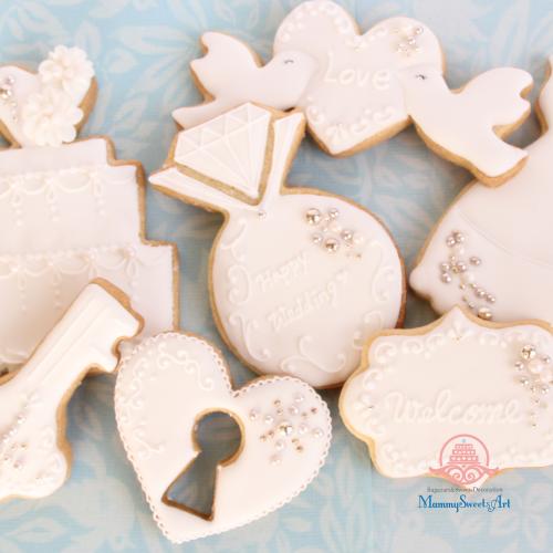 アイシングクッキーwedding