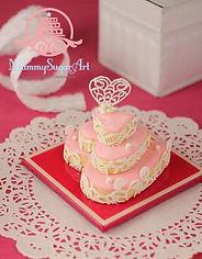 シュガークラフト、アイシングクッキー,バレンタイン,シュガーケーキ,ウェディング