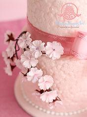 シュガークラフト,シュガーアート,「和」のケーキ,桜のケーキ,オーダーメードウェディングケーキ,オーダーケーキ,シュガーアート
