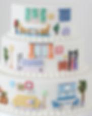 シュガークラフト,シュガーアート,オーダーケーキ,JAPANTEX,ポスター用ケーキ,オーダーメードウェディングケーキ,撮影用,シュガーアート