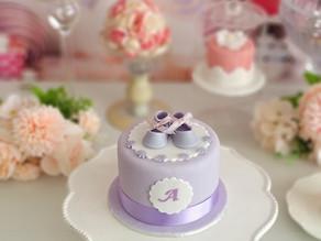 生徒様の作品 ベビーシューズのケーキ