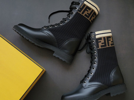 FENDIのブーツ「ロココ」