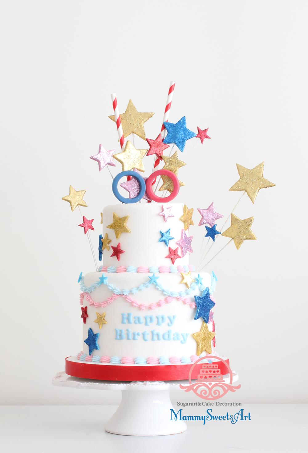 コクーンシティー4周年記念ビジュアル用ケーキを制作させていただきました。