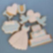アイシングクッキー、ウェディング,オーダー,ハート