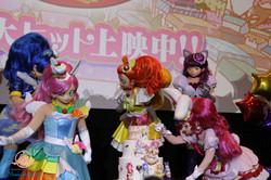 『映画キラキラ☆プリキュアアラモード』舞台挨拶用のシュガークラフトケーキ制作