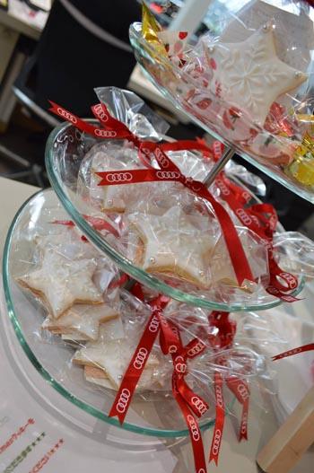 Audi全国販売店クリスマスイベント用アイシングクッキー制作用