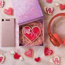 ソニー「Love Music」の ホワイトデーアイシングクッキー制作