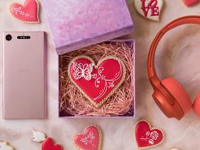 ソニー「Love Music」のホワイトデービジュアル用にアイシングクッキーを制作、スタイリング協力