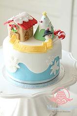 シュガークラフト,クリスマスケーキ,オーダーメードケーキ,オーダーメードウェディングケーキ,シュガーケーキ